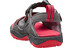 Keen Rock Iguana Sandaler Børn grå/rød